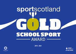 Sport Scotland Gold Award Icon